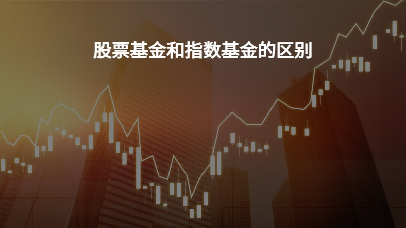 股票基金和指数基金的区别?